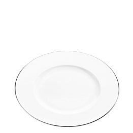 Assiette plate Platinium Ø 28 cm