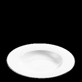 Assiette creuse Platinium Ø 24 cm bassin Ø 15,5 cm
