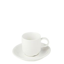 Tasse et sous-tasse à café Bruges 9 cl