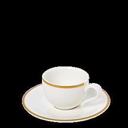 Tasse et sous-tasse à café Luxor 8 cl