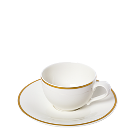 Tasse et sous-tasse à thé Luxor 25 cl