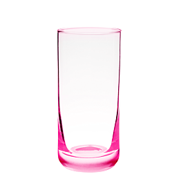 Verre à whisky rose fluo 32 cl
