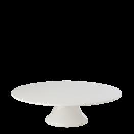 Plat porcelaine sur pied Ø 35 cm H 10 cm