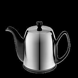 Théière porcelaine Carbone inox 150 cl