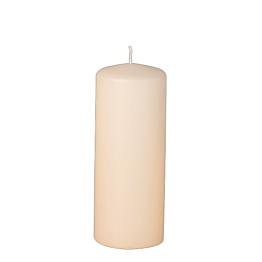 Bougie cylindre ivoire H 15 cm Ø 6 cm