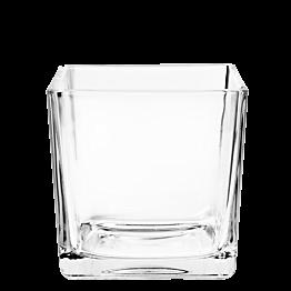 Cube verre 14 x 14 cm 170 cl