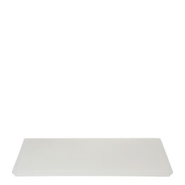 Plateau blanc à fromages 30 x 40 cm