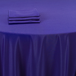 Nappe bleu intense 210 x 210 cm
