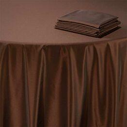 Nappe Toscane cuivre 210 x 210 cm
