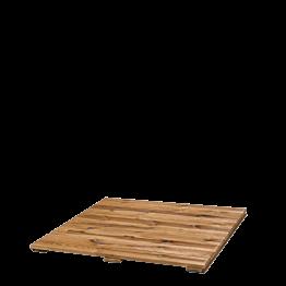 Dalle caillebottis bois 95 x 95 cm
