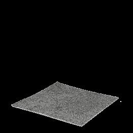 M² de dalle de moquette gris chiné avec pose