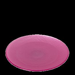 Assiette de présentation rose poudré Ø 32 cm