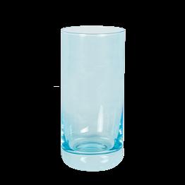 Verre à whisky bleu fluo 32 cl