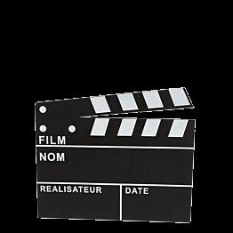 Clap Cinéma 30 x 26 cm