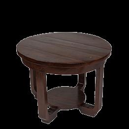 Table basse ronde en bois Ø 60 H 45 cm