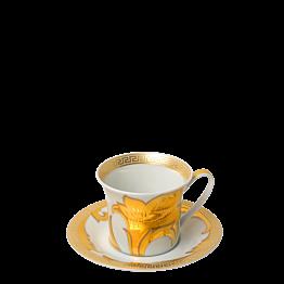 Tasse et sous-tasse à café Versace 10 cl
