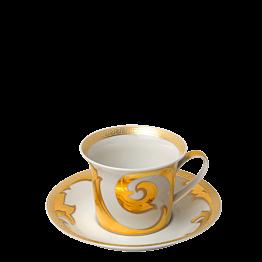 Tasse et sous-tasse à thé Versace 25 cl