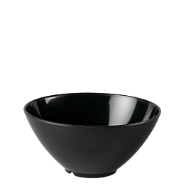 Saladier résine noir Ø 28 cm H 15,5 cm 380 cl