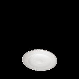 Assiette à pain blanche en verre Ø 14 cm