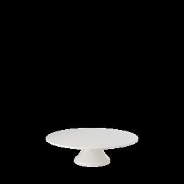 Plat porcelaine sur pied Ø 22.5 cm H 7 cm