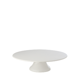 Plat porcelaine sur pied Ø 29.5 cm H 9 cm