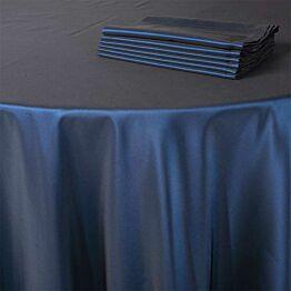 Chemin de table Toscane bleu nuit 50 x 270 cm