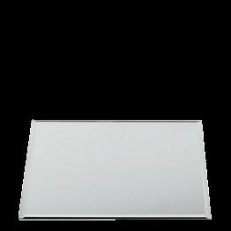 Dessous d'assiette miroir carré 40 x 40 cm
