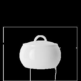 Sucrier porcelaine blanche