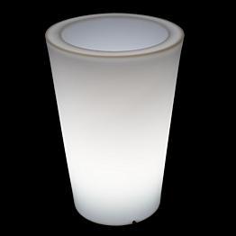 Pot rond lumineux Ø 35 H 50 cm