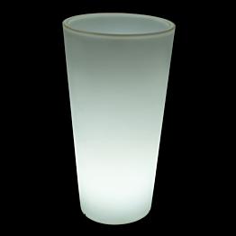 Pot rond lumineux Ø 40 H 75 cm