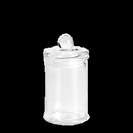 Bonbonnière en verre Ø 6 cm H 11 cm