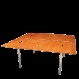 Table carrée 153 x 153 cm