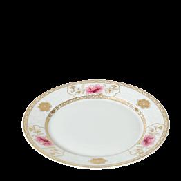 Assiette plate Pivoine rose Ø 27 cm