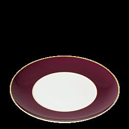 Assiette plate Rocco bordeaux Ø 27 cm