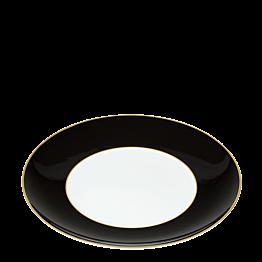 Assiette plate Rocco noire Ø 27 cm