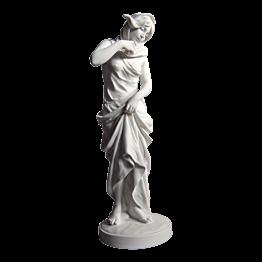 Statuette Biscuit Bruma H 28 cm - Ø 9 cm