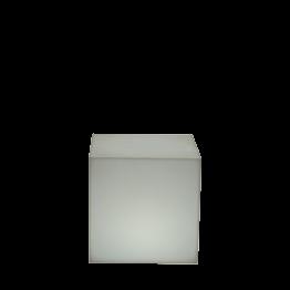 Pouf lumineux autonome 40 x 40 x 40 cm
