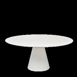 Table Icône ronde blanche Ø 160 cm H 72 cm