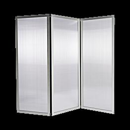 Paravent plexi L 210 cm (70 x 3) H 186 cm