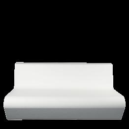 Canapé Lounge Pool blanc 90 x 160 cm H 68 cm