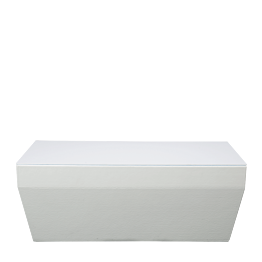 Table basse Lounge Pool blanc M1 40 x 80 cm