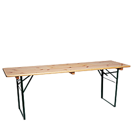 Table kermesse 220 x 80 cm