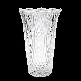 Vase en verre Vintage grand modèle