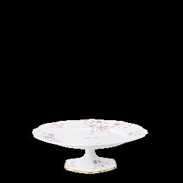 Compotier haut vintage fleuri