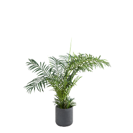 Areca artificiel H 180 cm avec pot