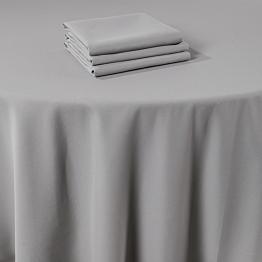 Chemin de table Marjorie gris 50 x 270 cm ignifugé M1