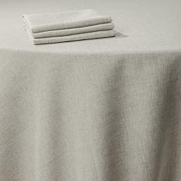 Nappe Lin ficelle 290 x 290 cm