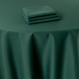 Nappe Marjorie vert 310 x 310 cm ignifugée M1