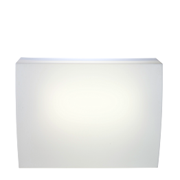 Bar Igloo lumineux module droit équipé 140 x 75 cm H 108 cm