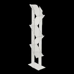 Présentoir 5 niveaux format A4 H 150 cm